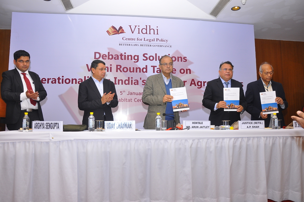 Vidhi Round Table on Operationalising India's Nuclear Agreements 1
