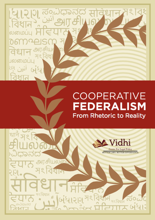 Cooperative Federalism: From Rhetoric to Reality 1