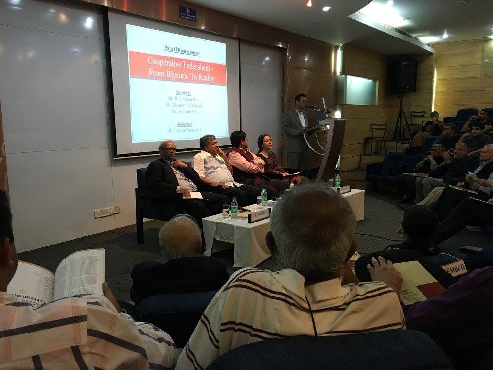 Bangalore Event: A Panel Discussion on Cooperative Federalism 1