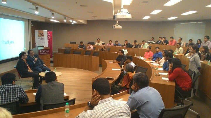'Great Cases': Talk by Mr. Mohan Parasaran on the Vodafone case 2