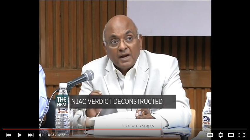 Video: Panel Discussion on the NJAC Verdict 1