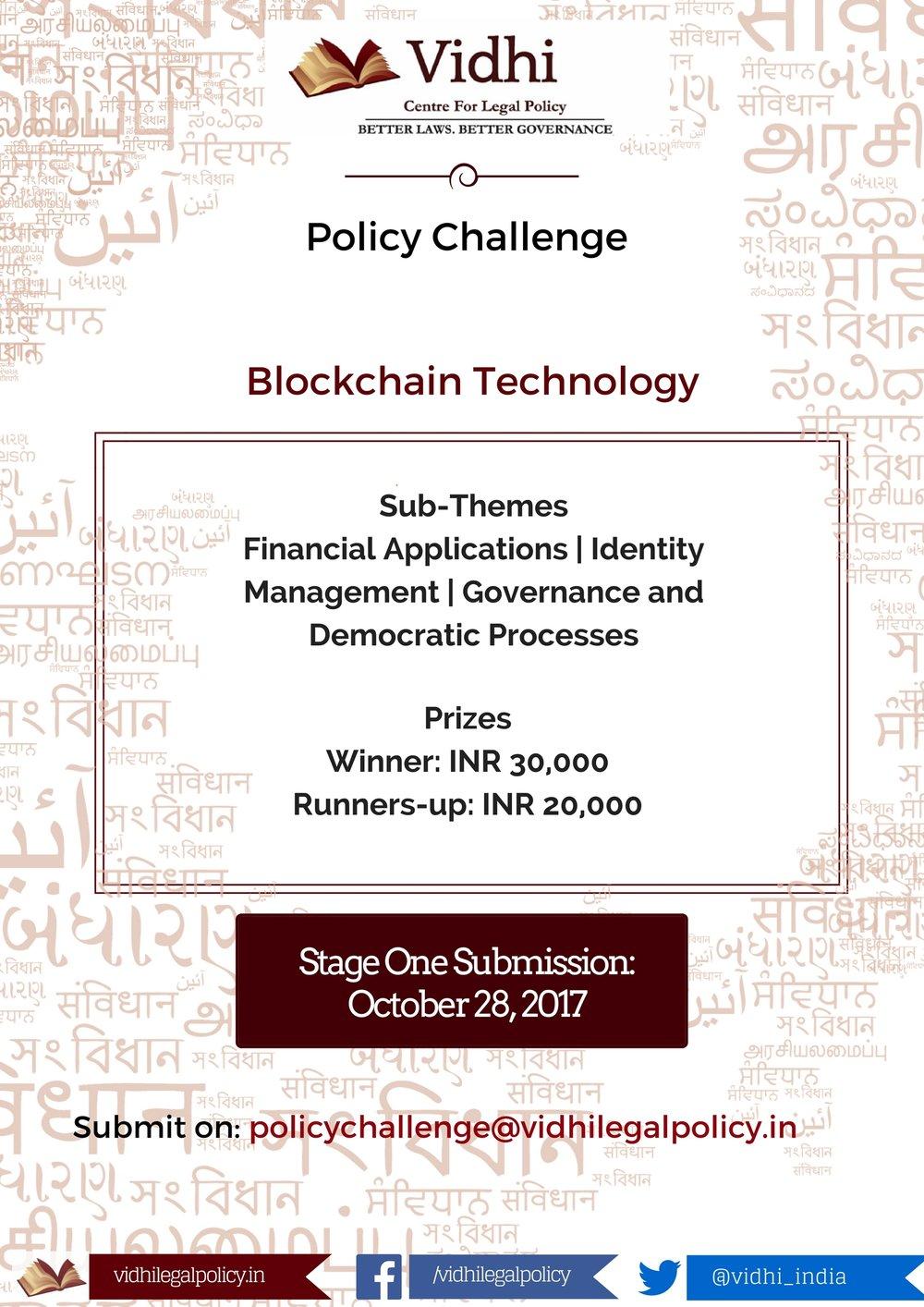 Vidhi Policy Challenge 1