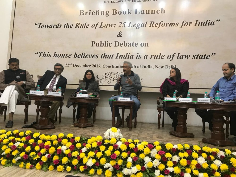 Vidhi's Briefing Book Launch & Public Debate 1
