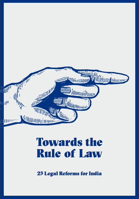 Vidhi Launched its Briefing Book: Towards the Rule of Law: 25 Legal Reforms For India 1