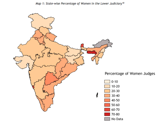 Tilting the Scale: Gender Imbalance in the Lower Judiciary 3