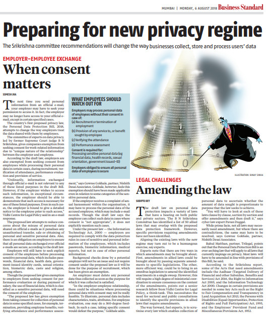 Preparing for new privacy regime 2