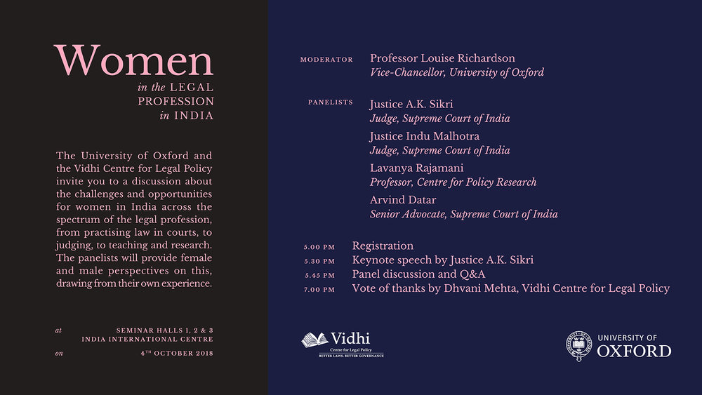 "Panel Discussion on "" Women in the Legal Profession"" 1"
