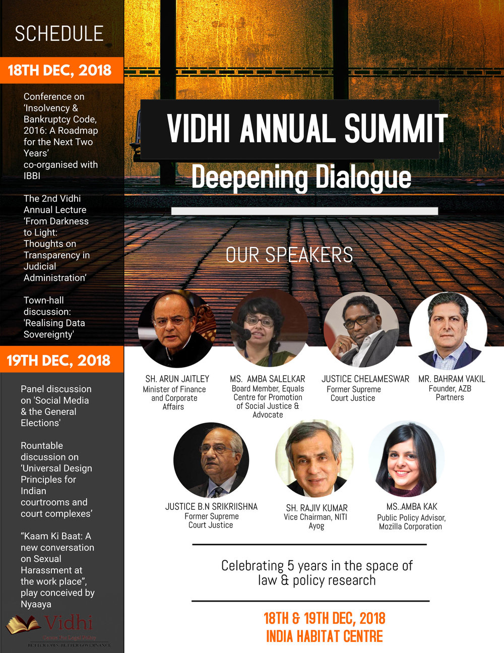 Vidhi Annual Summit: Deepening Dialogue 1