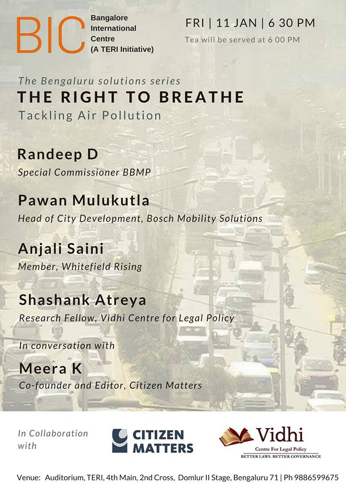 The Right to Breathe- Fixing Bengaluru's Air 1