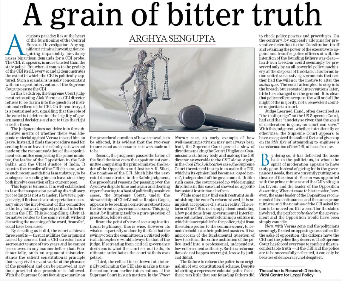 The chimera of instant reform: A grain of bitter truth | The Telegraph 2