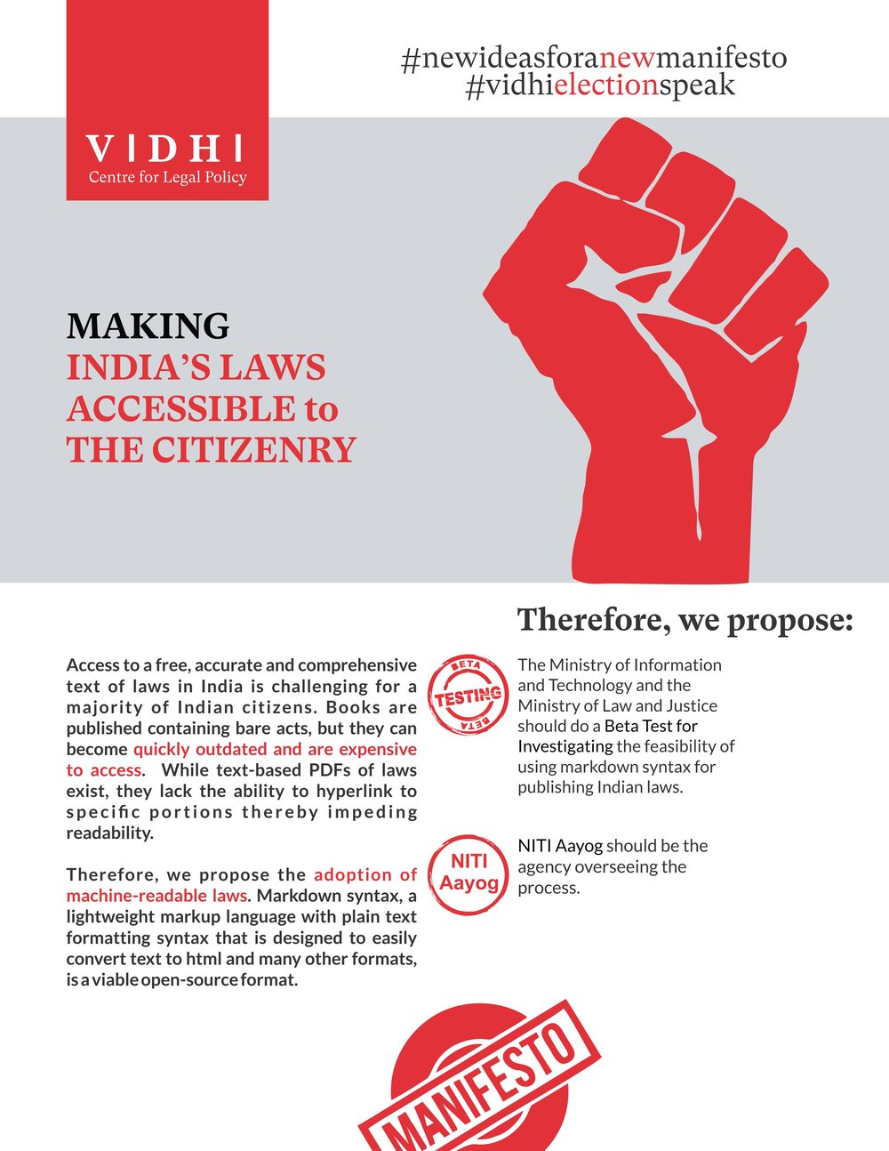 Making India's Laws Accessible to the Citizenry 1