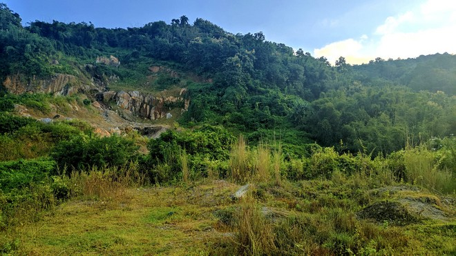 Some areas have started showing signs of natural restoration,such as this hill near Slimkhowa village in Karbi Anglong.