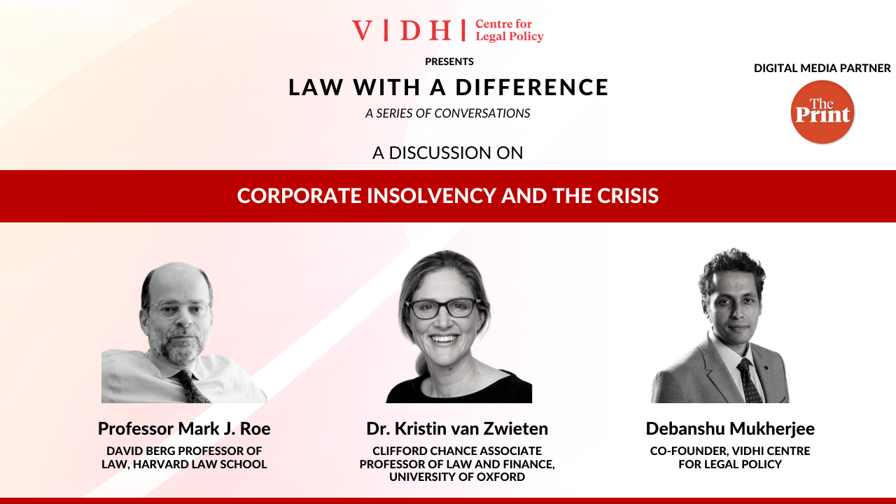 Discussion on 'Corporate Insolvency and the Crisis'