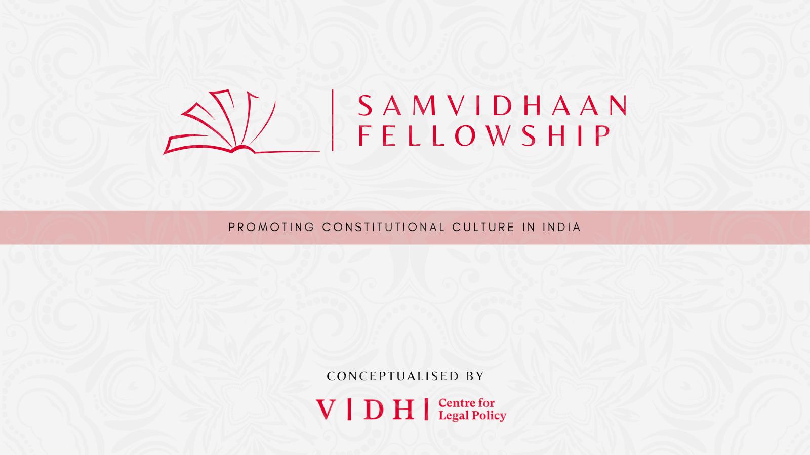 Samvidhaan fellowship