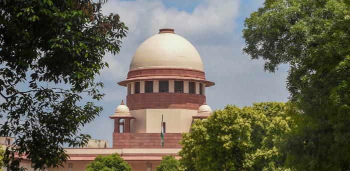 Supreme Court dome