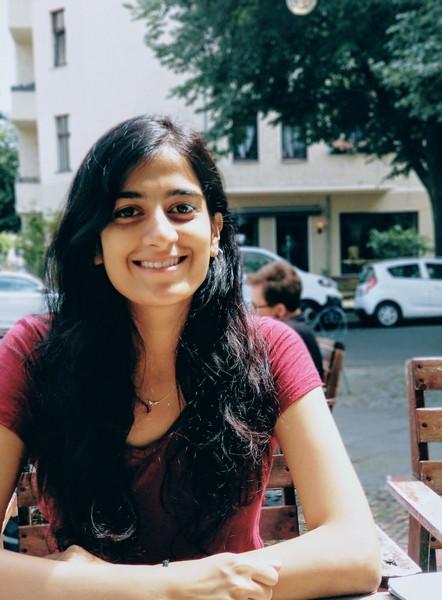 A photo of Anvita.